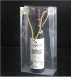 Мешок бутылки вина PVC ясности Китая выдвиженческий изготовленный на заказ