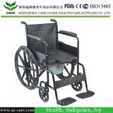 Faltender Aluminiumcommode-Standardrollstuhl