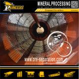 Equipo aluvial de la minería aurífera del depurador rotatorio mineral de la arcilla de la pequeña escala