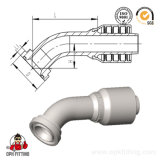 SAE-Flansch-hydraulische Schlauch-Befestigung 87311.87312