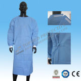 Elementaroperation-Sterilized oder Not Isolation Gown/Surgical Gown für Nurses, Patients