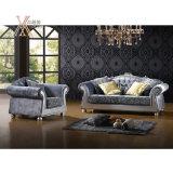 Il sofà del tessuto del salone ha impostato (NCS29A/NCS29B)