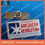 Divisa de encargo del Pin de la solapa del metal de la estrella del proceso de impresión de la fábrica de Alibaba para las ventas