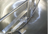Aquecimento elétrico do aço inoxidável que cozinha o potenciômetro mergulhado dobro