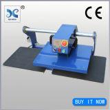 Nueva Dos Estaciones neumática prensa del calor de la máquina