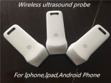 Punta de prueba sin hilos del ultrasonido del uso de Andorid y del iPhone