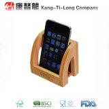 Support en bambou de téléphone portable