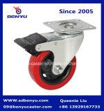 Rotella girevole industriale del poliuretano, rotella girevole resistente media, rotella dell'unità di elaborazione