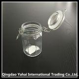240ml despejan el tarro de cristal del almacenaje