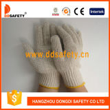 Связанная белая перчатка Dkp116 PVC