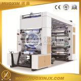 Тип 6 печатная машина стога пленки любимчика цвета Flexographic