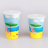Lids를 가진 소다 Cold Drink Disposable Paper Cups