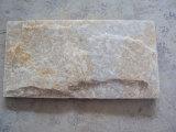 最上質の普及した黄色い珪岩、工場価格のスレート