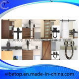 Hardware scorrevole interno dei portelli di granaio del portello di lusso poco costoso di legno solido