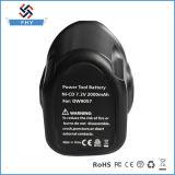 Dewalt 7.2V 2000mAh Nicad Plättchen-Art-Batterie