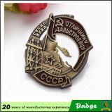 Distintivi d'ottone su ordinazione del partito della Russia