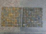 壁のクラッディングのタイルのための錆ついたスレートのモザイク