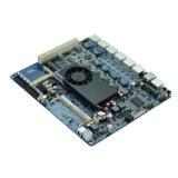 Atom D525 sechs LAN-firewall- networksicherheits-Motherboard Gleichstrom-Versorgung