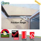 Ventana de PVC doble acristalamiento y puerta de madera de color