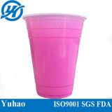 Dubbele PS van de Kleur Beschikbare Plastic Kop voor het Koude Drinken