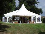 贅沢なイベントの大きいアルミニウム玄関ひさしの屋外のテント
