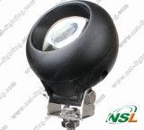 Lumière fonctionnante lumineuse superbe ronde de 20W LED, lumière de travail du CREE LED, lumière de travail de 12V 24V LED