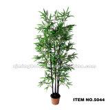 Bambou artificiel extérieur 5044 d'arbre en bambou en plastique noir
