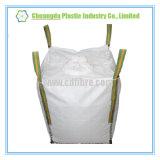 Sac de couture de côté de panneau d'U grand avec le bec remplissant et doublure de PE pour le sucre ou le sel