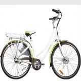 Bici eléctrica de litio de la Al-Aleación de acumuladores de la ciudad sin cepillo del motor (LN28C04)