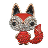 Brooch Fox сплава цинка Rhinestone способа для женщин