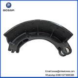 Patin de frein de pièce d'auto de Daewoo de fer de fonte