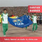 Fabrik-Preis, der im Freiensport-Staatsflagge bekanntmacht