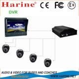 Bus / Car / Coach Sécurité / Surveillance CCTV Camera Monitor DVR