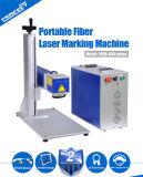 machine d'inscription de laser de fibre de 10W 20W 30W pour la plaque signalétique en métal