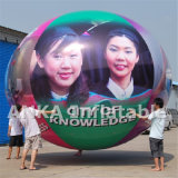 Inflável Girl Face Sphere Balloon Price Made in China