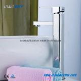 Singolo colpetto d'ottone della stanza da bagno del lavabo del fronte della maniglia