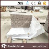 Telhas vermelhas do granito G562 do bordo de pedra barato chinês para o revestimento/parede/ao ar livre