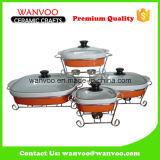 Della Cina del commercio all'ingrosso vaschetta di ceramica della griglia del bastone non per la cottura della torta