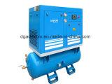 タンクによって取付けられる電気小型回転乾燥器の空気圧縮機(KB15-08D/500)