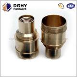 Metal do CNC da elevada precisão peças centrais do torno da maquinaria do mini