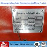 электрическая лебедка веревочки поднимаясь провода 10t 12m тяжелая