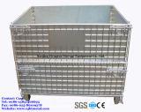 セリウムの証明書が付いているFoldableスタック可能金網の貯蔵容器
