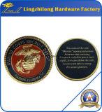Los militares americanos del águila 3D desafían la moneda