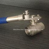 Válvula de esfera automática da restauração 2PC
