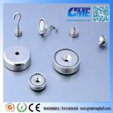 Magnet hohe des Zug-Kraft-Stahlpotentiometer-N35 mit Haken-Auge