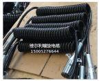 7 câble de remorque des fiches TPU d'aluminium de Pin pour le câble de spirale de remorque du camion 12/24V
