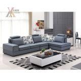 Il sofà blu del tessuto ha impostato con il Chaise (6028A)