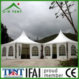 백색 Windproof 및 Waterproof Gazebo Tent 4X4