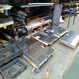 Cortadora del laser de la fibra de la placa de acero de carbón del acero inoxidable para el proceso del metal de hoja