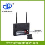 空700dのFpv 5.8g 32CHの多様性受信機DVRの7インチのモニタ